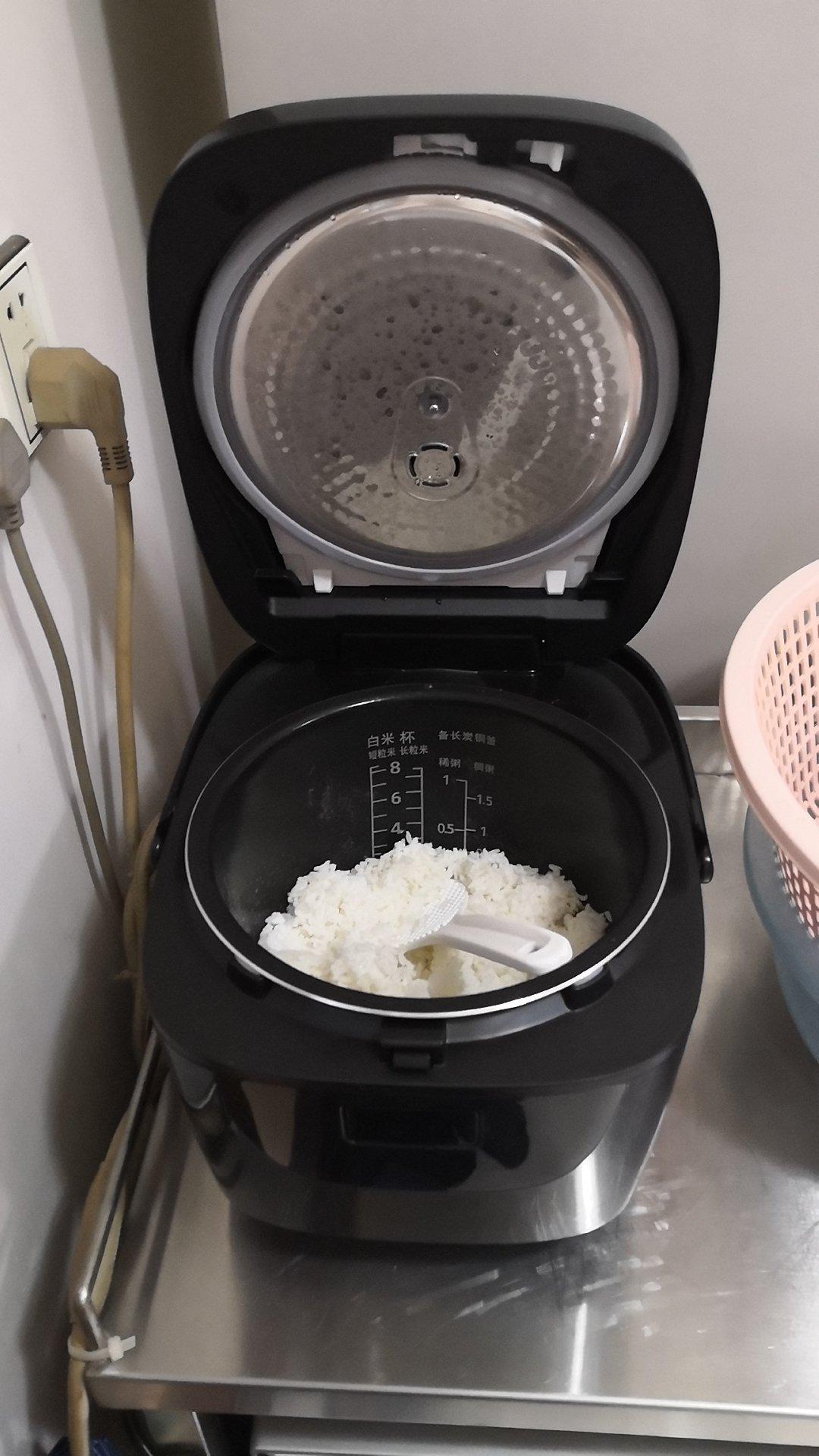 松下4LIH电磁加热电饭煲,24小时预约懒人也能做美食