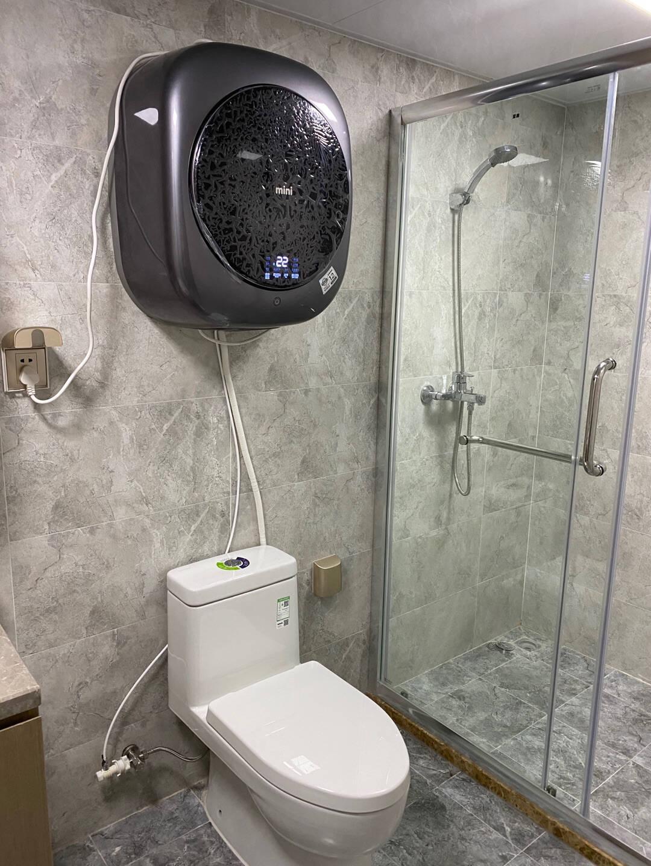 WINIA韩国原装进口壁挂洗烘一体迷你洗衣机全自动婴儿宝宝母婴内衣高温煮洗滚筒GWM3-30CVSK-3.0KG洗烘一体-深空灰