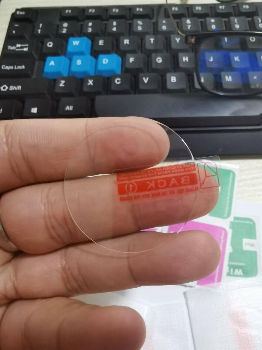 斯泰克【贴坏包赔】【带刻度-2片装】华为WatchGT2钢化膜gt2手表贴膜高清防爆全屏保护膜-46mm表盘