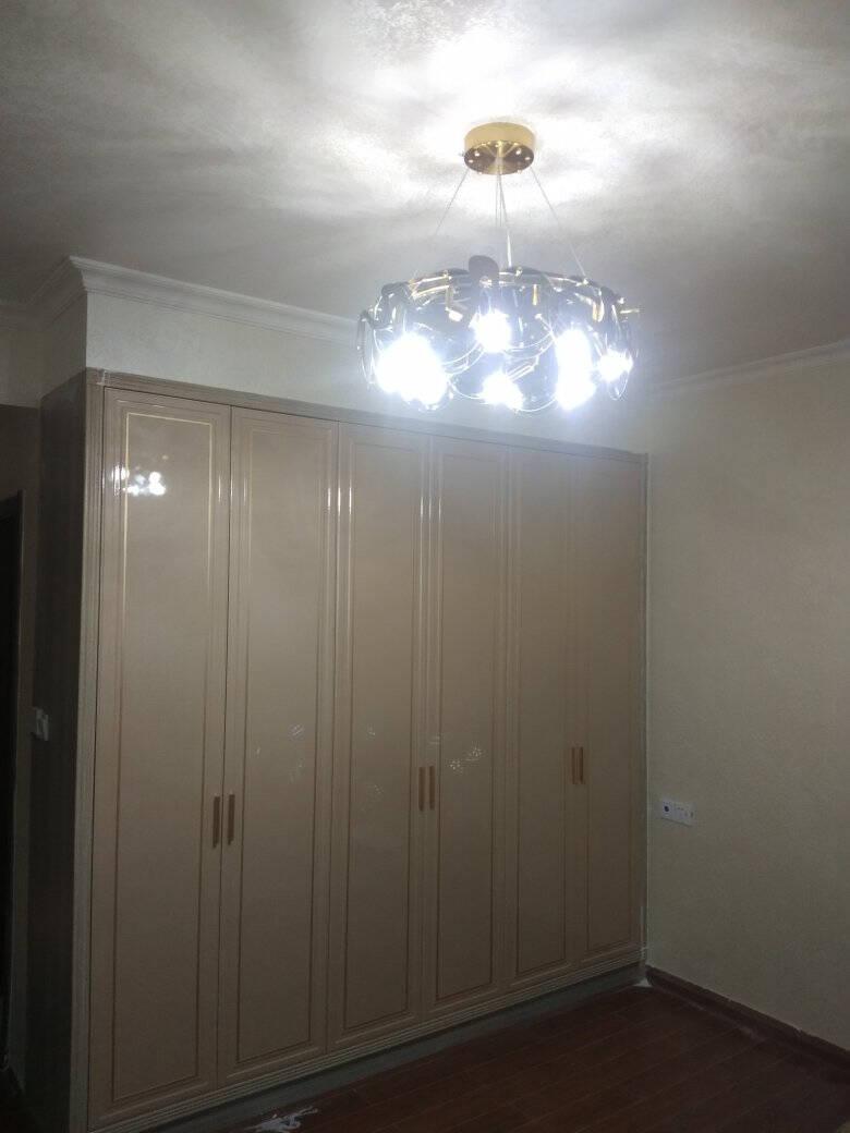 灯太太轻奢客厅吊灯水晶灯后现代客厅灯餐厅卧室灯吸吊两用大厅水晶吊灯北欧美式灯具套餐套餐E三室二厅