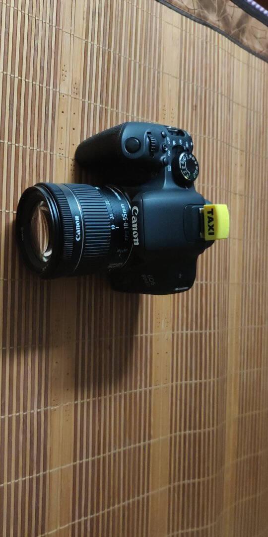 佳能(Canon)EOS800D单反数码相机APS-C画幅内置WIFINFC单机+18-55mmSTM镜头+优惠套餐