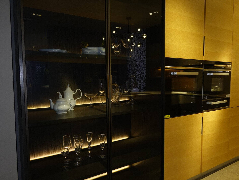 博洛尼整体厨柜定制组合收纳现代简约款厨房橱柜定做订金真我本色真我本色橱柜预付金