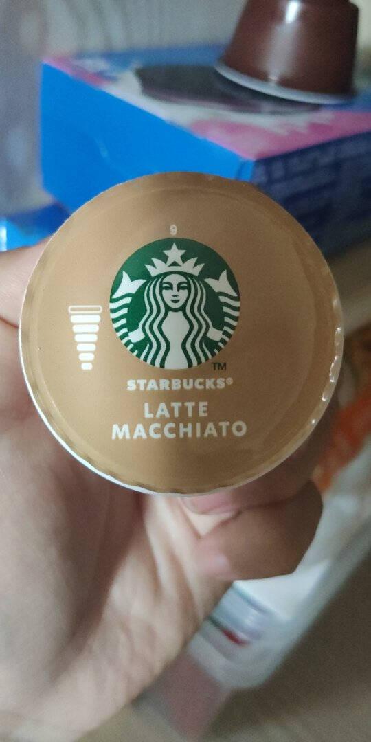 星巴克(Starbucks)新上市胶囊咖啡拿铁固体饮品121.2g(雀巢多趣酷思咖啡机适用)