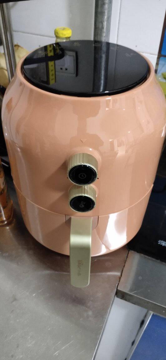 小熊(Bear)空气炸锅4.6L容量家用调温定时无油烟电炸锅薯条机烤箱大功率QZG-A15W5