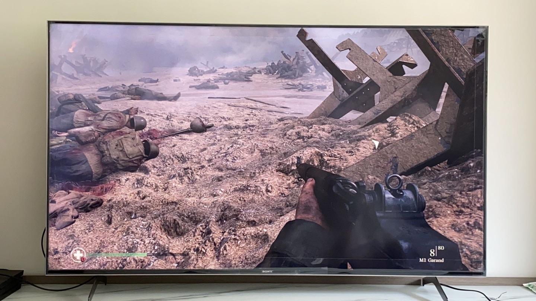 索尼65英寸超高清液晶电视,在家也能有电影院效果