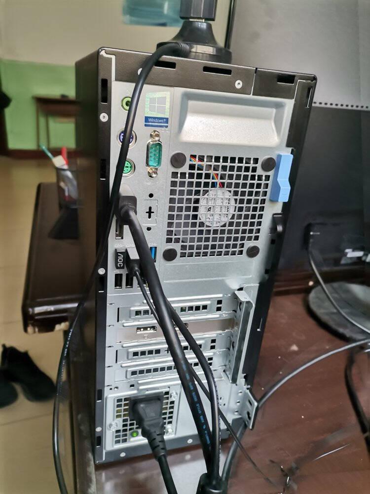 戴尔台式机OptiPlex7070升级7080MTi7十代八核商用绘图设计3D渲染建模台式机电脑单主机(预装win10家庭版)I7-10700/16G/1T+256G/4G独显