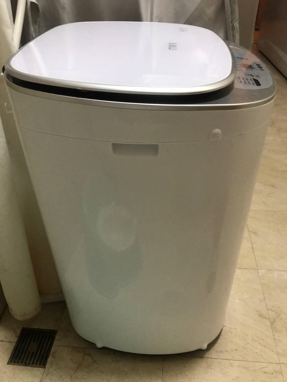 小黄鸭高温煮洗婴儿洗衣机全自动儿童迷你宝宝洗衣机消毒消毒洗小型家用智能热烘干4.5kg全自动+蓝光洁净前按+桶自洁黄色