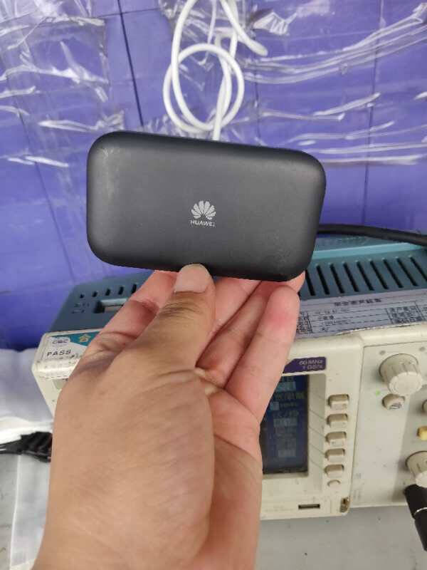 华为(HUAWEI)随行WiFi3黑色4G全网通4G插卡车载上网宝无线路由器高速上网1500mAh电池华为E5576-855