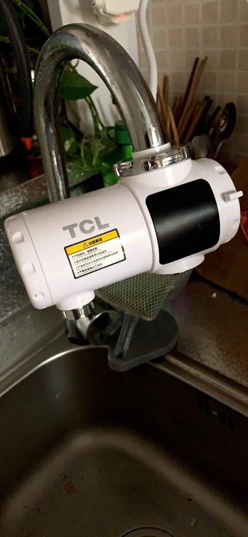 TCL电热水龙头免安装速热家用即热式加热接驳式厨宝小型热水器冷热两用家用过水热得快加热器小厨宝【免安装】白色送漏保