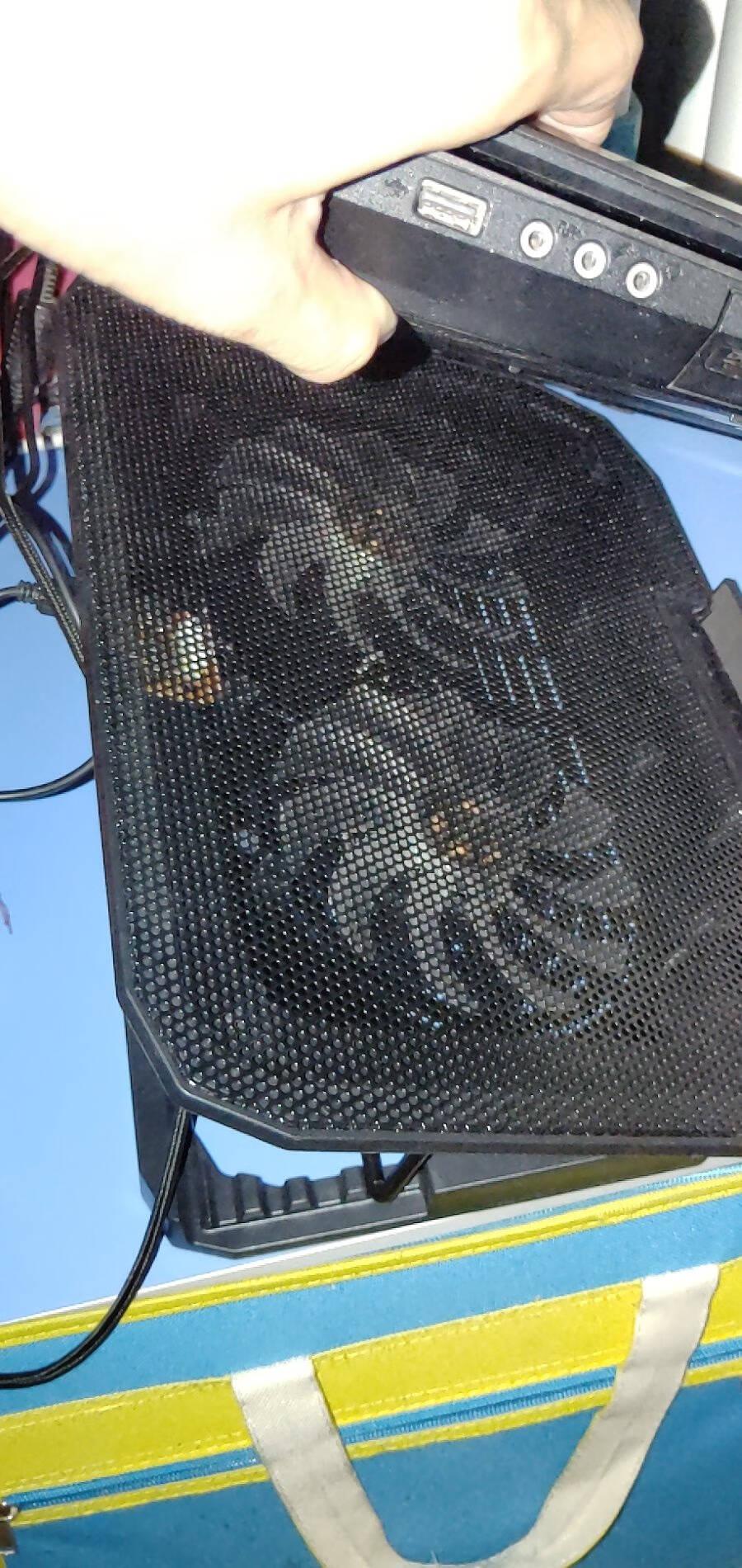 酷睿冰尊(ICECOOREL)A1笔记本散热器(电脑配件/笔记本支架/散热架/散热垫/笔记本垫/适用于15.6英寸)