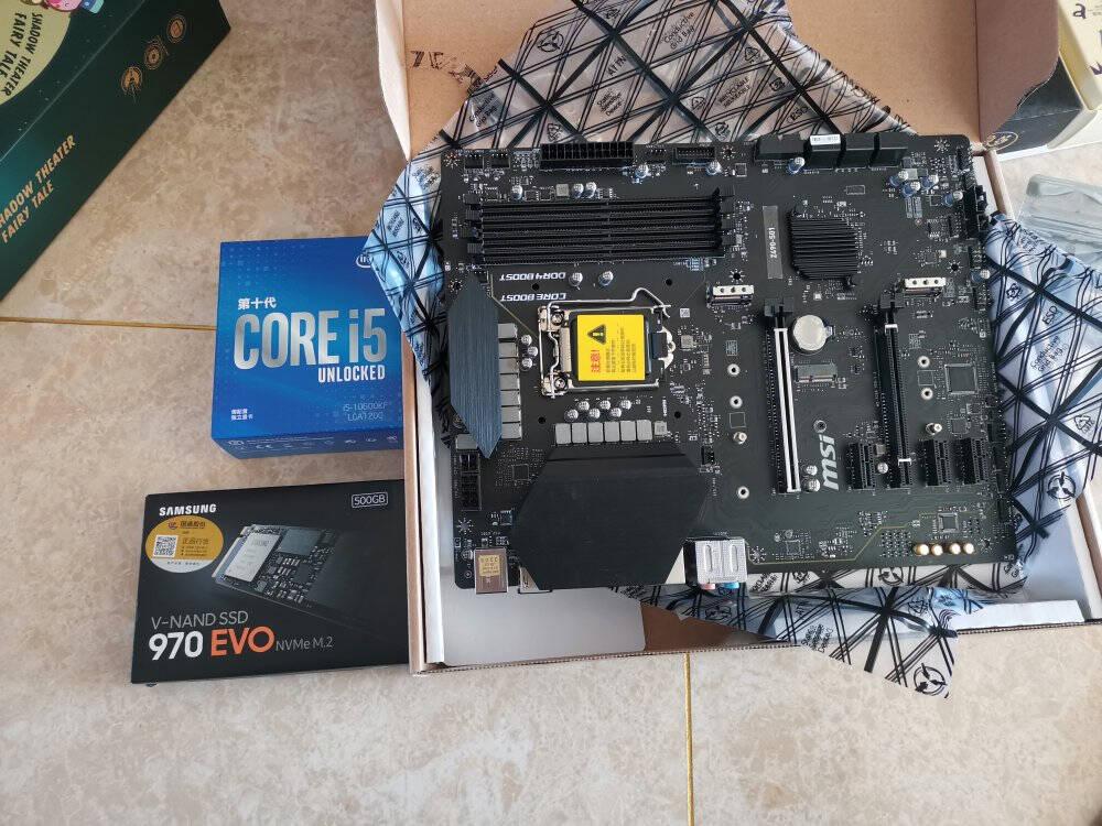 微星(MSI)Z490S01电脑主板支持CPU10900K/10700K/10600KF(IntelZ490/LGA1200)