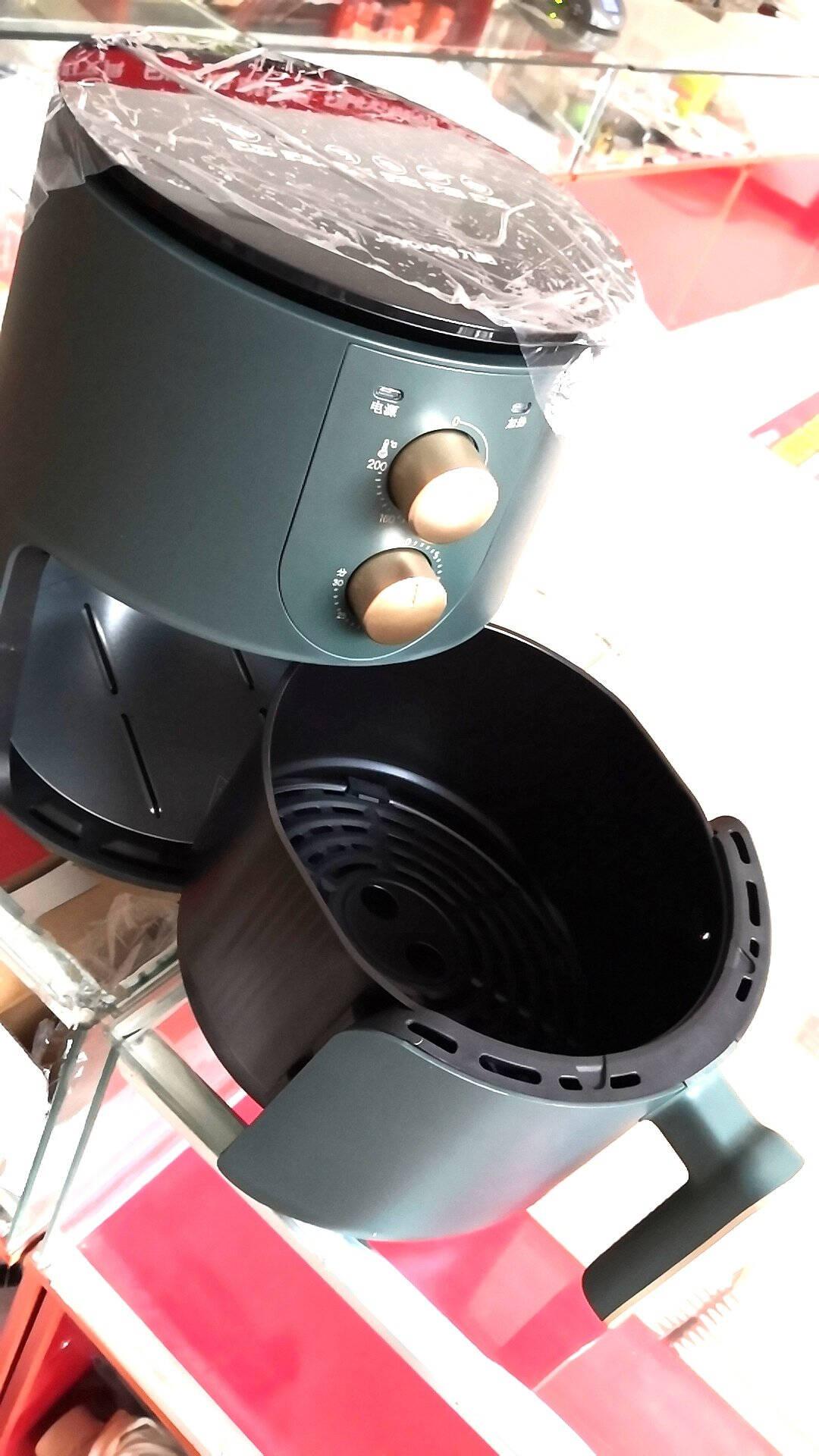 九阳Joyoung空气炸锅家用智能4.5L大容量不沾易清洗准确定时无油煎炸薯条机KL45-VF501