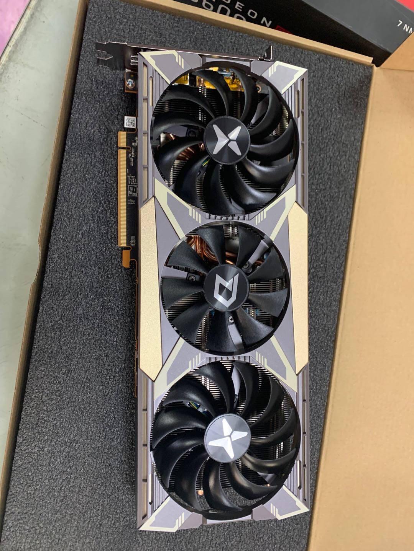 迪兰(Dataland)RX5600XT6GX战神1615-1750MHz/14Gbps6GB/192-bitGDDR6DX12VR游戏显卡
