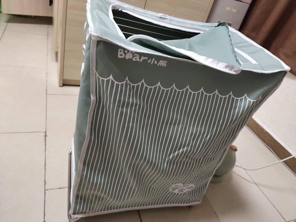 小熊(Bear)干衣机折叠烘干机家用小型衣服护理机烘衣机烘干衣柜内裤内衣消毒机暖风机HGJ-B08M1