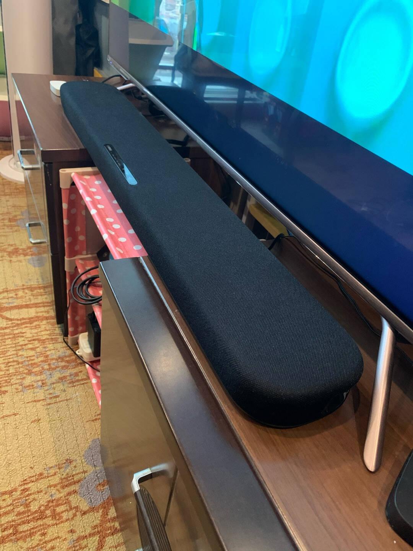 雅马哈(YAMAHA)SR-B20A蓝牙回音壁Soundbar5.1家庭影院(内置低音炮)条形音箱壁挂家用电视音响黑色