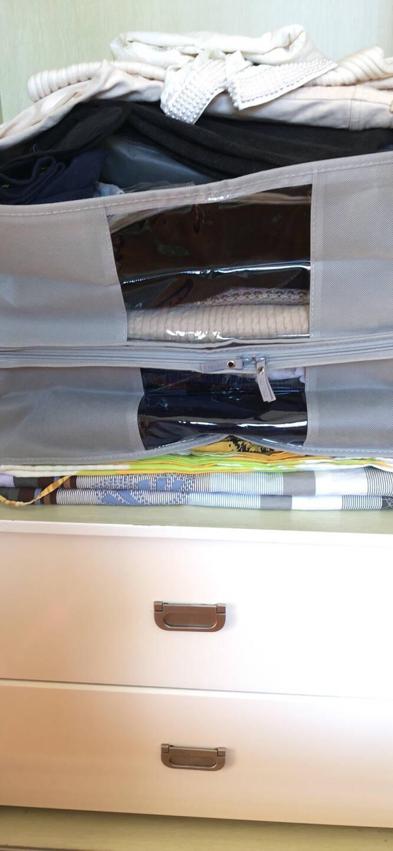 百草园收纳袋衣服棉被子整理袋收纳包2特大2大2小珊瑚粉搬家打包袋