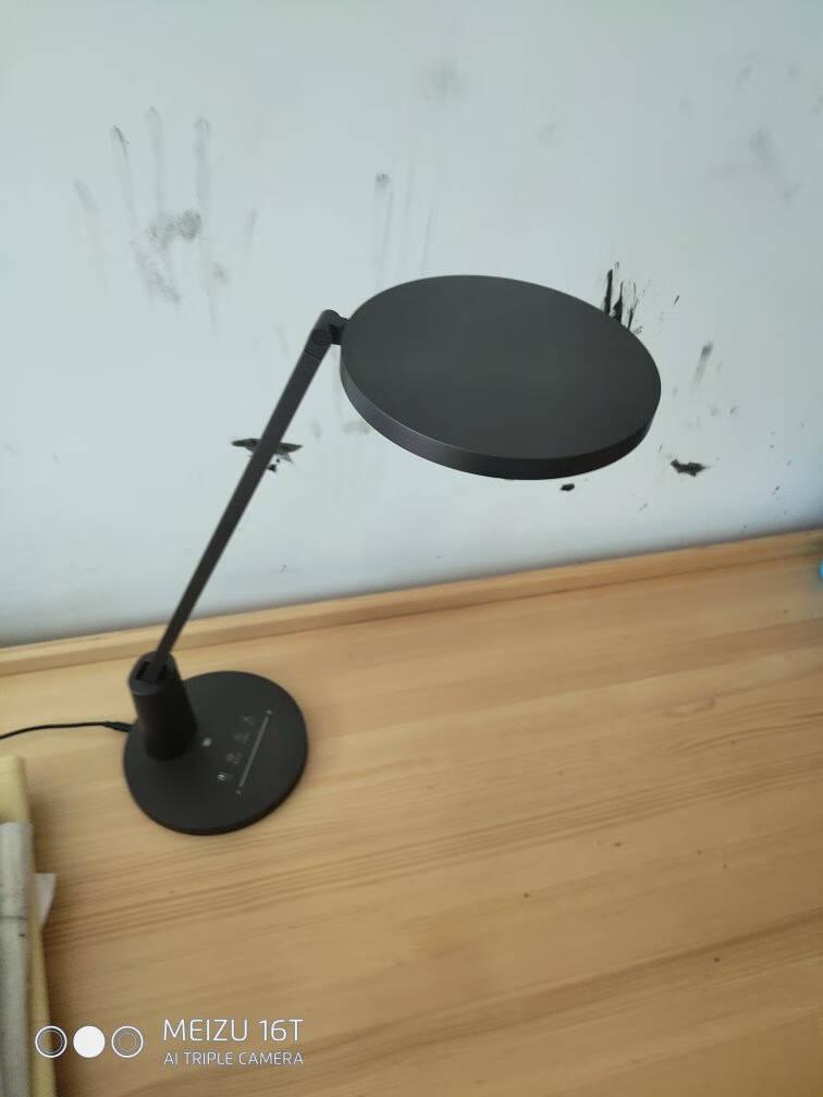 欧普照明(OPPLE)AAA级护眼灯LED书桌护眼灯中小学生学习宿舍卧室儿童学习台灯元悦黑色
