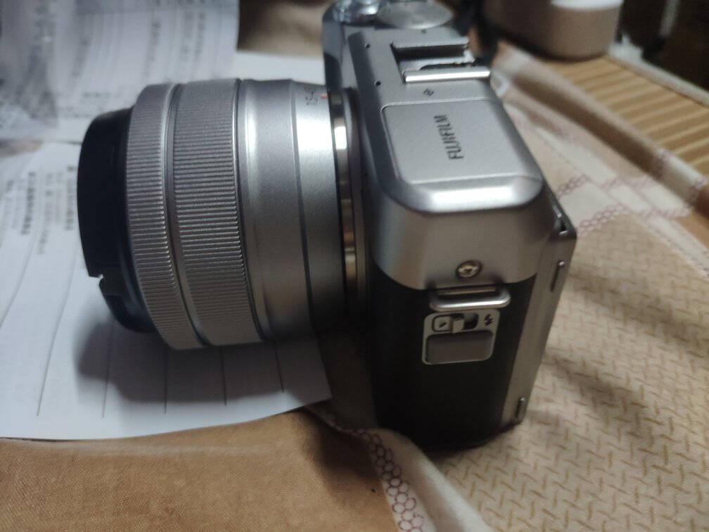 【旗舰店】富士(FUJIFILM)X-A5/XA5微型无反相机/4K拍摄无反照像机棕色(XC15-45mm)镜头套机