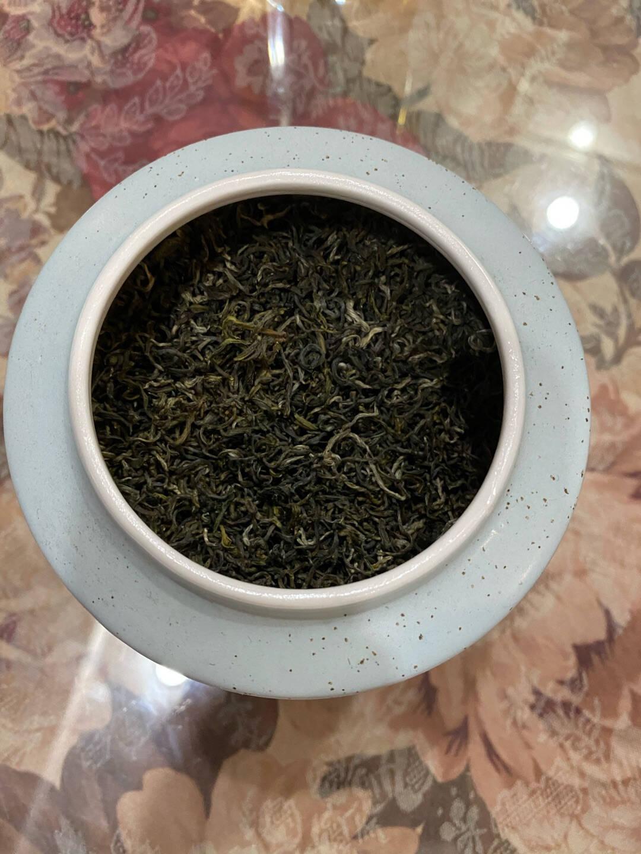 苏氏陶瓷(SUSHICERAMICS)茶叶罐经典亚光铁锈茶具配件(蓝)