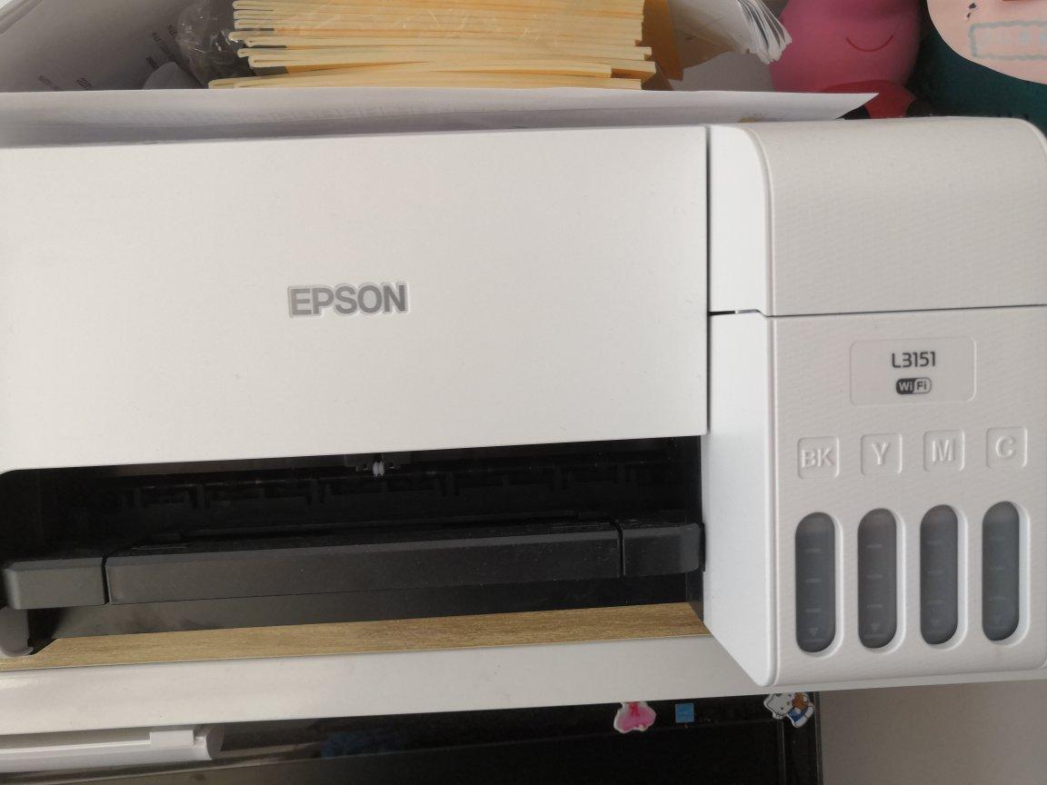 爱普生墨仓式彩色打印机,家里用能手机打印