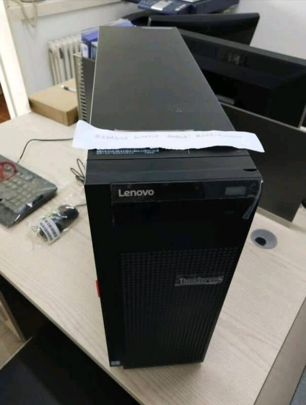 联想ThinkServerTS80X/TS250塔式服务器主机国产金蝶用友财务软件TS80X至强四核E-2224G3.5G16G内存丨2x1TRAID1