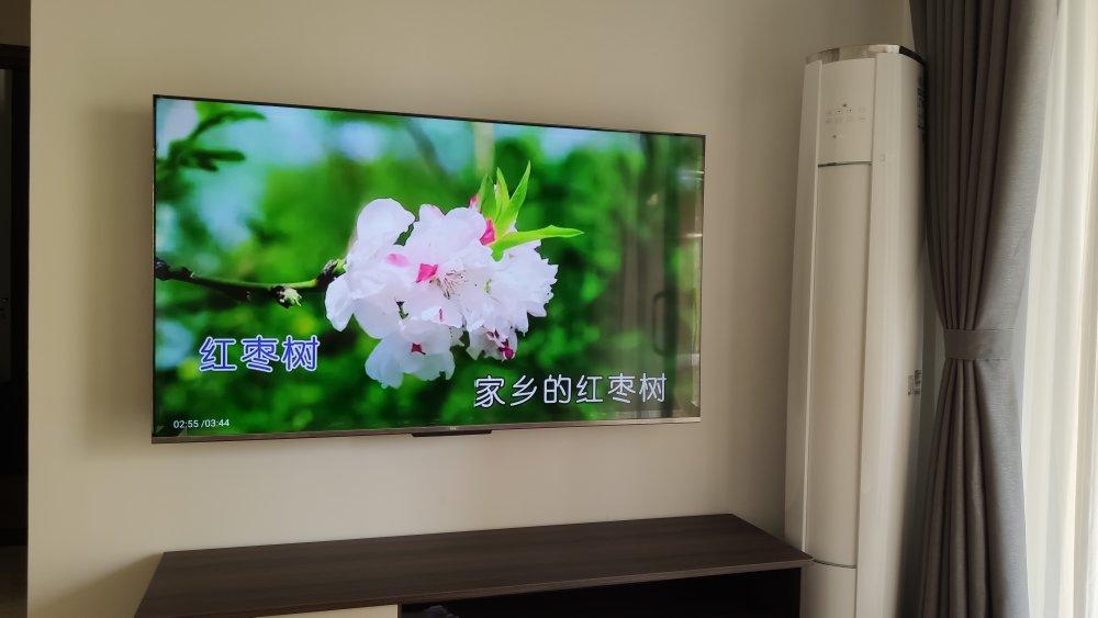 TCL 65Q7D 65英寸 130%色域社交电视 分体式摄像头 AI声控智慧全面屏 MEMC运动防抖 3+32GB 平板电视机