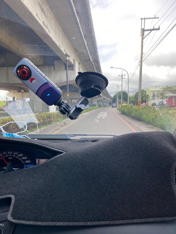 PGYTECH吸盘支架运动相机支架POCKET/ACTION/GoPro9/Insta360ONEX2/R大疆车载吸盘支架汽车固定支架
