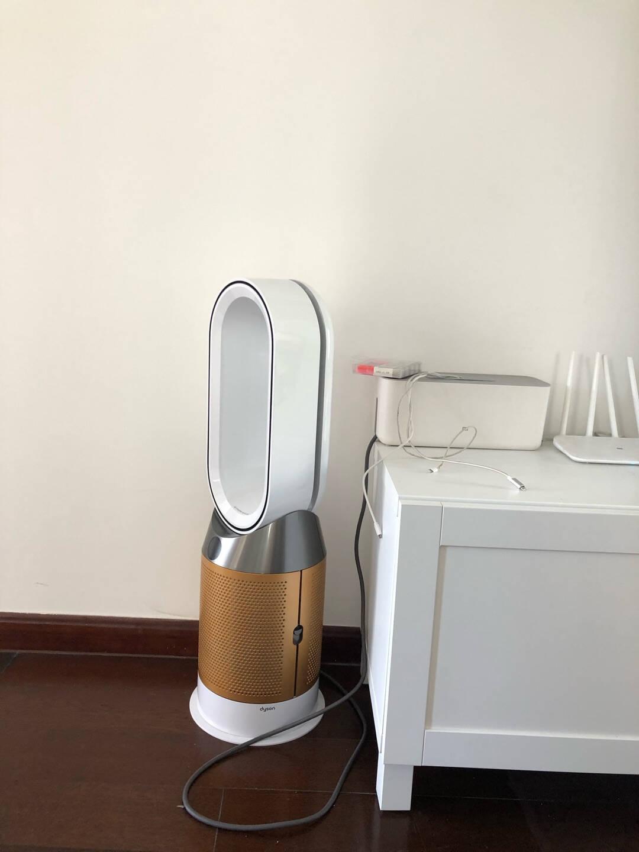 戴森(Dyson)HP06多功能无叶电风扇塔扇兼具空气净化器除菌除甲醛四季适用白金色