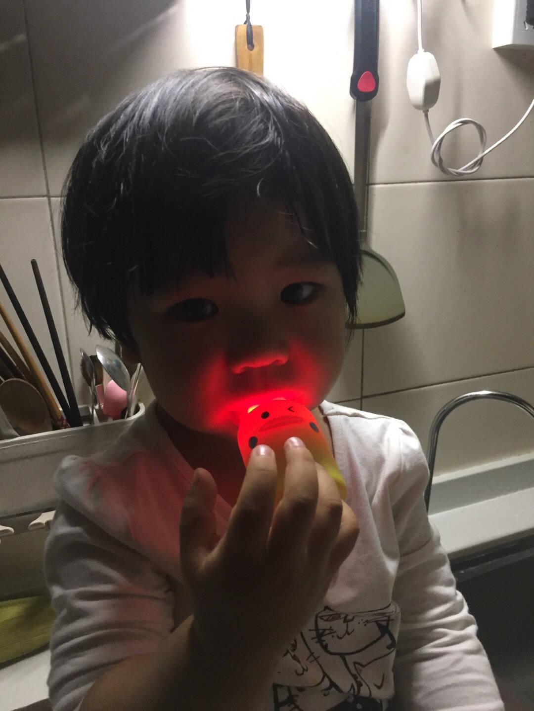 USC儿童电动牙刷u型牙刷声波震动充电式刷牙宝宝款呆萌鸭轻柔版