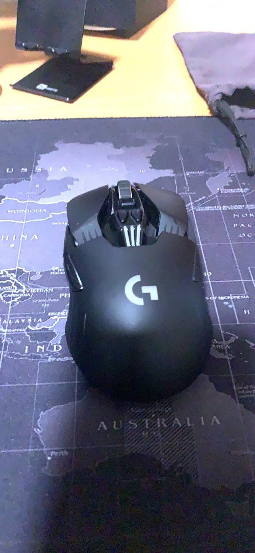 罗技(G)G903LIGHTSPEED升级版无线游戏鼠标RGB无线鼠标吃鸡鼠标16000DPI升级HERO传感器