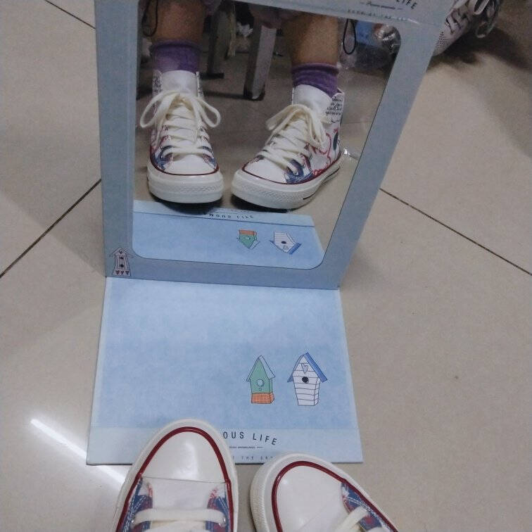 NICEMREO米奇高帮帆布鞋女学生韩版百搭小白鞋女2021秋季新款鞋子女ins网红潮鞋女白色37