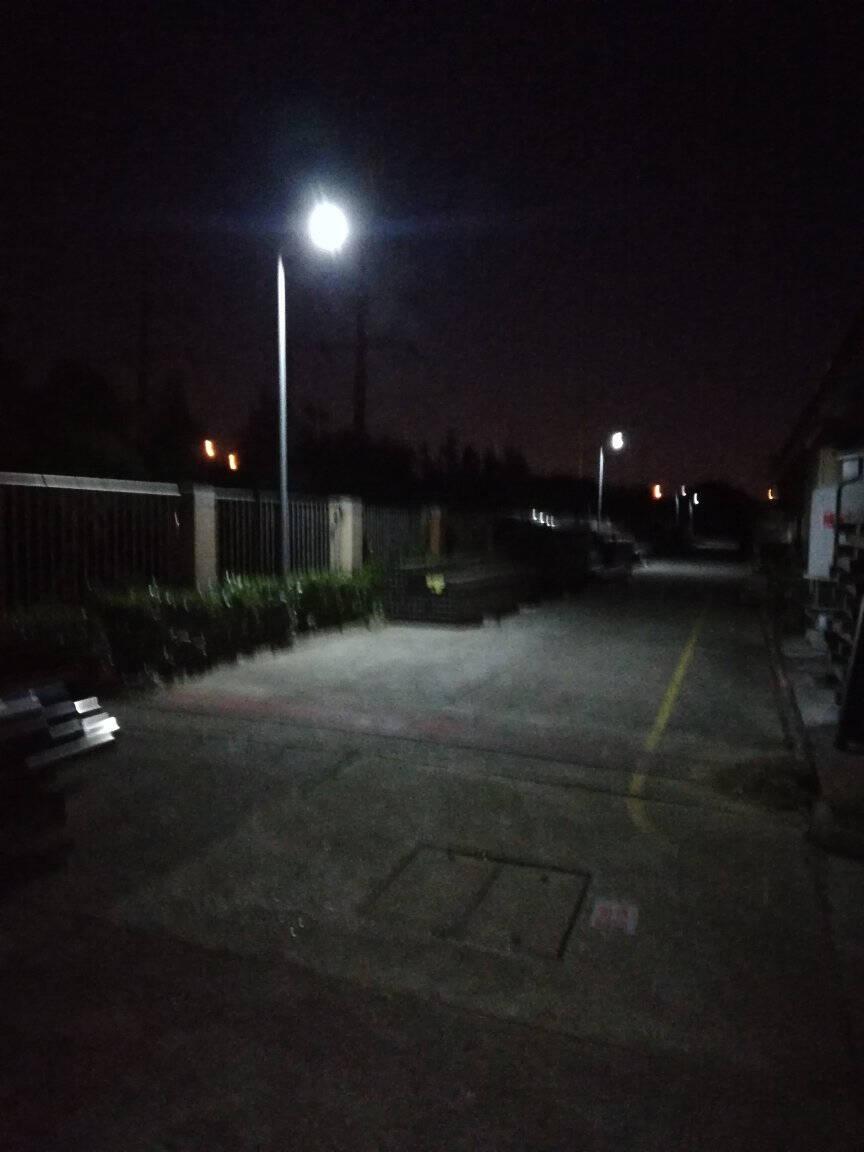 雷士(NVC)太阳能灯路灯户外LED投光灯家用庭院灯高亮新农村壁灯LED投光灯防水室外围墙灯定时遥控214灯珠