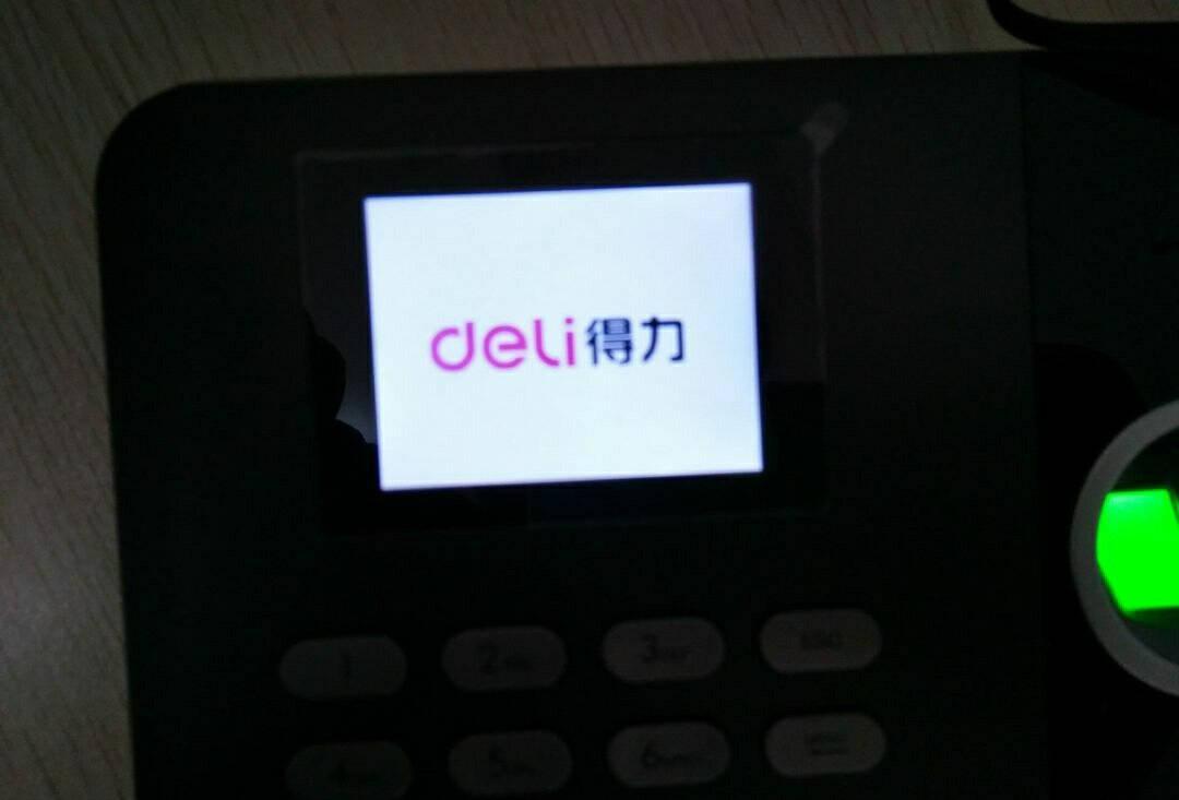得力(deli)智能企业云考勤机人脸/指纹/无接触手机打卡APP远程管理考勤数据接口定制3765CN(网线版)