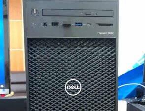 戴尔(DELL)T3630/T3640图形工作站台式电脑主机深度学习/仿真计算/有限元分析【T3640】I3-101004核3.6G16G 2T+256GSSD P2200