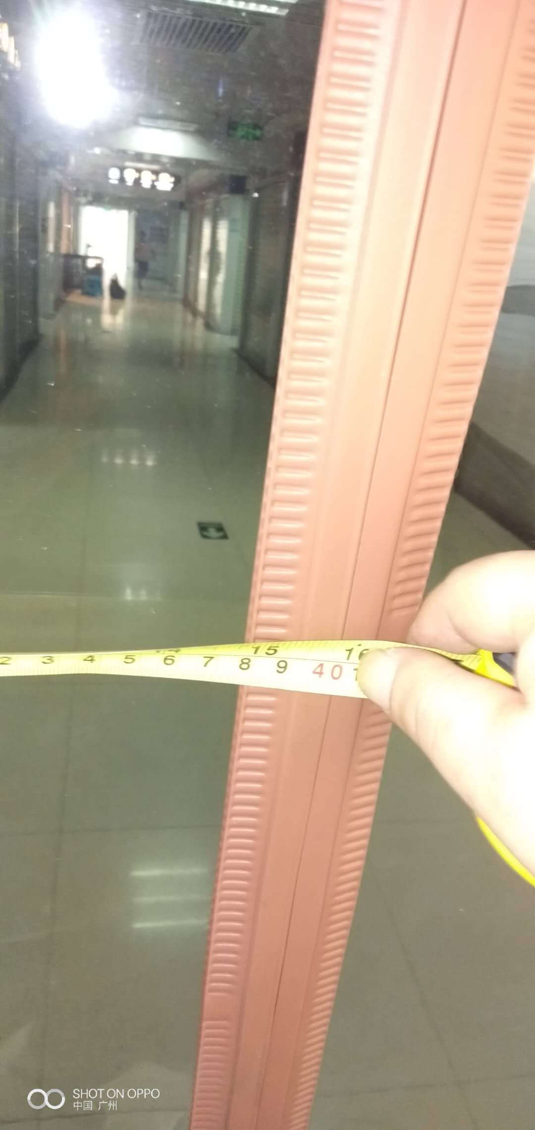 迪茵DIYIN空调门帘磁铁对吸隔断帘透明塑料pvc软门帘磁吸自吸家用挡风帘子厚度2.0mm定制尺寸联系客服