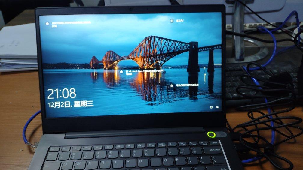 联想V14高性能商务笔记本电脑,有大容量硬盘存储空间