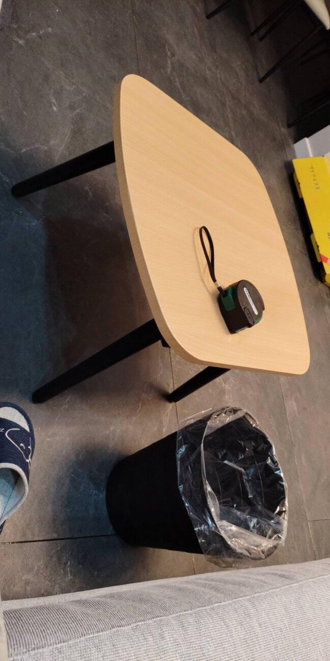 (限量)全友家居茶几小户型客厅会客厅长方形茶桌置物家具现代简约边几DX119006边几