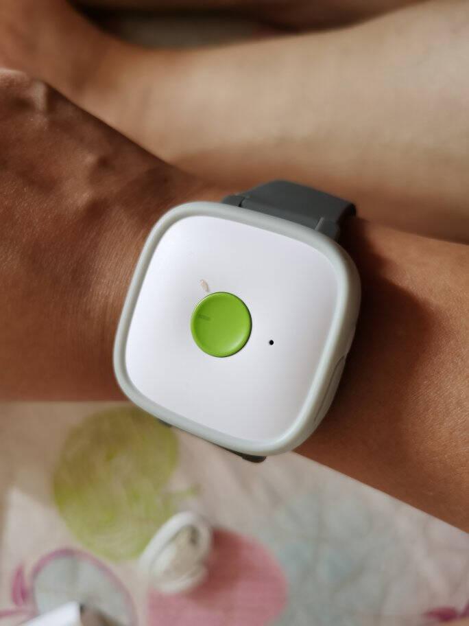 中国移动找TA定位器7重高精度GPS定位器儿童老人防走丢定位手表智能防丢手环车辆防盗微型跟踪器表带(黄色)