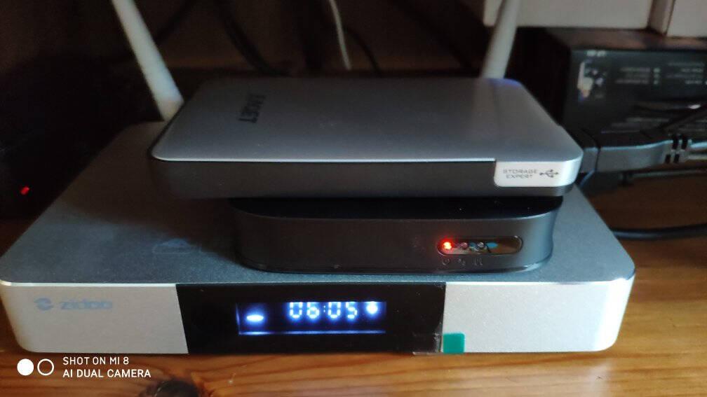 芝杜ZIDOOZ9X/Z9S3D/HDR4K杜比视界蓝光高清硬盘播放器网络机顶盒无损音乐新品Z9X新品+V8蓝牙遥控器(入仓款)正品