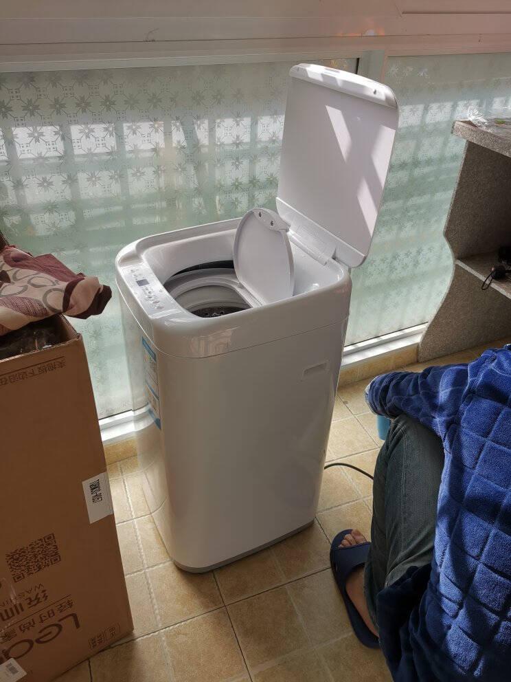 统帅(Leader)海尔出品波轮洗衣机全自动儿童迷你洗衣机高温蒸汽烫洗TQBM30-R057