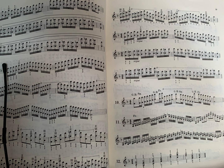 正版卡尔弗莱什小提琴音阶体系每日大小调音阶练习小提琴教材教程小提琴音阶音调练习教材人民音乐