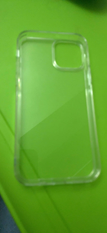 京东京造iPhone12/12Pro手机壳苹果12/12Pro保护套透明防摔玻璃壳全包硅胶软边镜面男女潮款6.1英寸透明
