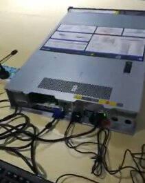 联想(Lenovo)ThinkServerSR588服务器主机2U机架式替代SR550单颗铜牌32041.9GHz,6C 单电16G内存 1*2TSATA 530-8I