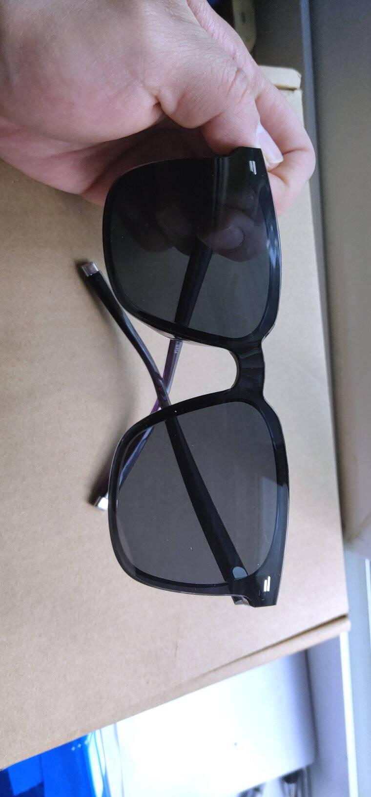 暴龙太阳镜王俊凯演唱会无字版墨镜眼镜男女护目镜BL5035F70-蓝灰色【王俊凯同款】