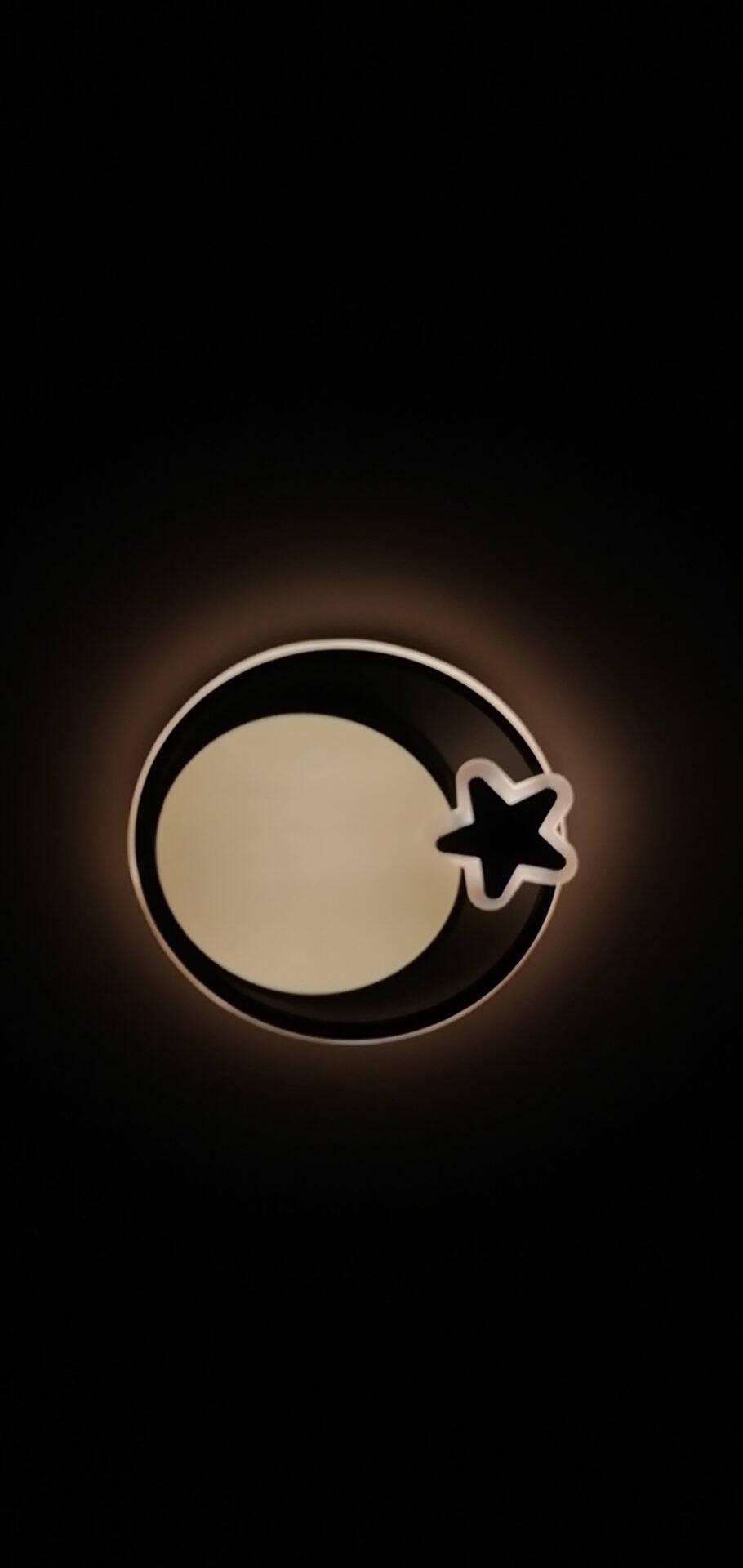 环森LED吸顶灯圆形现代北欧温馨卧室灯书房灯阳台灯客厅餐厅灯卧室房间灯具灯饰组合H072款直径40cm/40w三色调光
