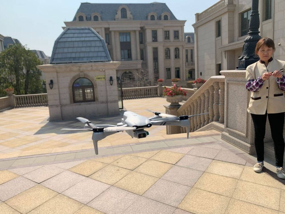 4DRC遥控飞机耐摔四轴飞行器GPS定位无人机6K高清航拍无人拍摄战斗航模直升儿童玩具飞机智能定高【6K双摄像头】双电+送收纳包VR