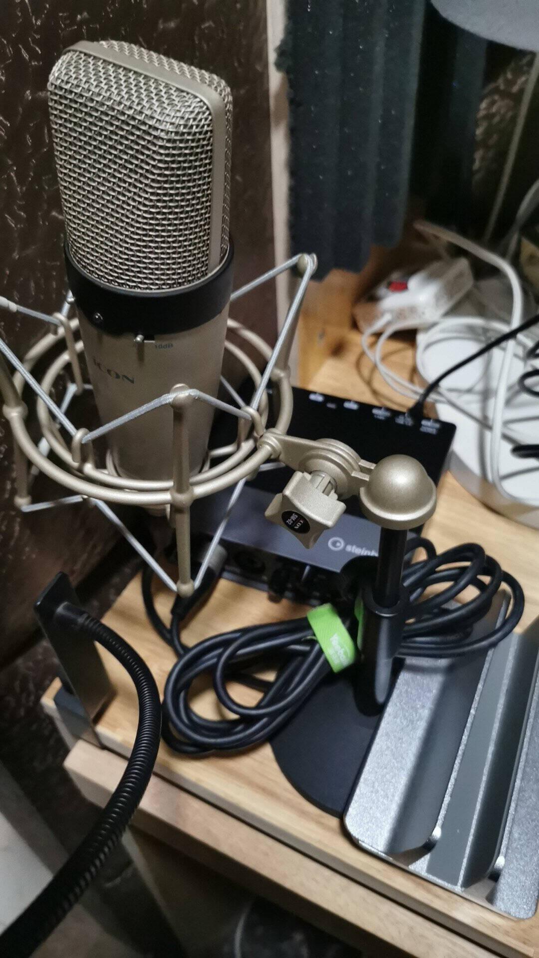雅马哈(YAMAHA)ur22mkii专业录音USB外置声卡有声书喜马拉雅设备套装ur22cur22mkii标配(有声书专业录音声卡)