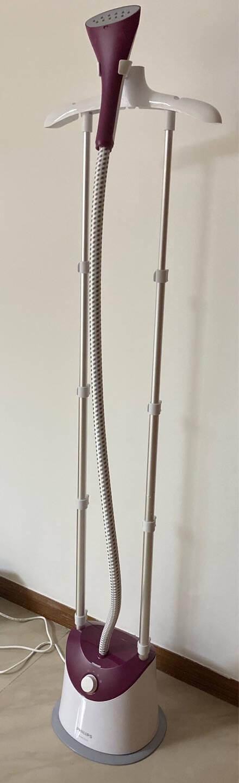 飞利浦(PHILIPS)奢宠3000系列蒸汽挂烫机易收纳榻榻米京品家电家用立式熨烫机STE3052/28