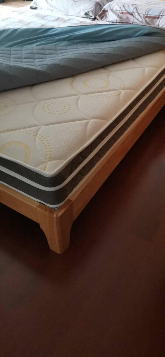 顾家家居软硬两用床垫2cm乳胶三区整网独立袋装静音弹簧席梦思1.8米M10165G垫180*200*23CM