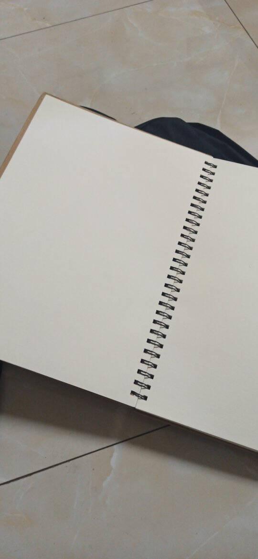 金值A4加厚素描本速写本8k素描纸绘画本子空白手绘学生用8k美术专用画纸白纸成人彩铅画册画画专业
